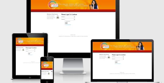vision-university-website-development