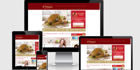 food-styling-mentor-website-development